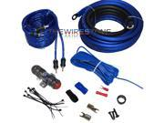 Raptor R4AK4 Mid Series 950W Watts 4 Gauge Amplifier Install Kit with RCA Cable