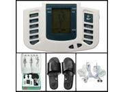 Digital Stimulator Massager Full Body Relax Pulse Acupuncture Therapy with Slipper 9SIA34V3H65406