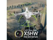 Syma X5HW WIFI FPV With 2MP HD Camera Altitude Hold 3D Roll 2.4G 4CH 6Axis RC Quadcopter RTF - White