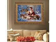 DPF K010 5D Diamond Embroidery Painting DIY Cross Stitch Mosaic Needlework Wall Decor Christmas Santa Claus 9SIA3526B73332