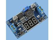Cheap LM2596 DC 4.0~40 to 1.3-37V Adjustable Step-Down Power Module + LED Voltme