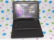 "Bluetooth Keyboard Leather Case For Samsung Galaxy Tab 2 10.1"" P5110 P5100 P7510 Black"