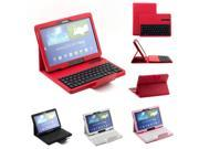 2014 New Bluetooth Removable Keyboard Case for Samsung Galaxy Note 10.1 2014 Edition P600 Black / Red / Pink / White