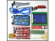 1pcs Mega 2560 R3 + 1pcs RAMPS 1.4 Controller + 5pcs A4988 Stepper Driver Module