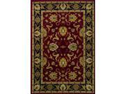 "Dalyn Wembley WB524RD Red  9'6"" x 13'2"" Area Rugs"