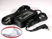 "iTEKIRO 19V 45W AC Adapter for Toshiba Satellite U925T U925T-S2300 Satellite U925T-S2301 Ultrabooks&#59; Tosihba Thrive 10.1"" Tablets AT105&#59; Toshiba PA3922U-1ARA PA5072U-1ACA + 10-in-1 USB Charging Cable"