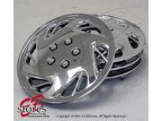 One Set (4pcs) of 17 inch Chrome Wheel Cover Skin Hubcap Hub caps 16