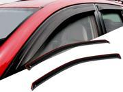 Window Visor Rain Guard Deflector In-Channel 2 Pcs Set Fits Mazda B2500 B3000 B4000 1994-2010 9SIA35U58C3095