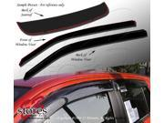 Sunroof & Window Visor Rain Guard Deflector In-Channel 3 Pcs Set Fits Mazda B2500 B3000 B4000 1994-2010 9SIA35U58D8255