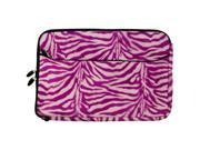 Faux Animal Print Protection Sleeve fits Apple Macbook 13.3 inch Laptops