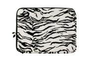 Neoprene Faux Animal Print Protection Sleeve Case fits Toshiba 15.6 inch Laptops