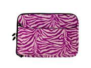 Neoprene Faux Animal Print Protection Sleeve Case fits Gateway 15.6 inch Laptops