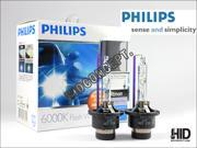 PHILIPS 6000K Ultinon D4S HID BULBS #42402WX - pack of 2