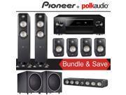 Polk Audio Signature S55 7.2-Ch Home Theater Speaker System with Pioneer Elite SC-LX701 9.2-Ch Network AV Receiver 9SIA36V5JB7970