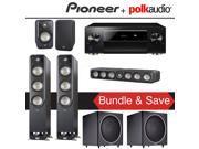 Polk Audio Signature S60 5.2-Ch Home Theater Speaker System with Pioneer Elite SC-LX701 9.2-Ch Network AV Receiver 9SIA36V5JB8206