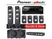 Polk Audio Signature S60 7.2-Ch Home Theater Speaker System with Pioneer Elite SC-LX701 9.2-Ch Network AV Receiver 9SIA36V5JB8267
