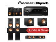 Klipsch Reference Premiere RP-280F 5.2-Ch Home Theater System with Pioneer Elite SC-LX701 9.2-Ch Network AV Receiver 9SIA36V5JB9413