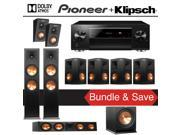 Klipsch Reference Premiere RP-280FA 7.1.2 Dolby Atmos Home Theater System with Pioneer Elite SC-LX701 9.2-Ch Network AV Receiver 9SIA36V5JD2897