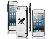 Apple iPhone 4 4s Ultra Thin Transparent Clear Hard TPU Case Cover Coal Miner Skull (Black) 9SIA36Y3D78714