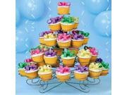 Wilton 307 651 Cupcakes and More 38 Count 5 Tier Metal Dessert Stand