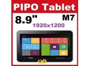 PIPO M7 PRO WIFI Tablet PC 8.9'' IPS Screen 1280x800 Android 4.2 RK3188 Quad Core 2G/16GB built-in GPS Dual Camera HDMI