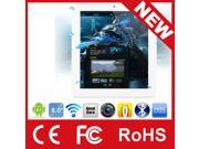 8inch CUBE U23GT Quad Core 5-points touch capacitive screen Wifi 1024* 768 1.8GHz 1GB/16GB Android 4.1 Tablet PC