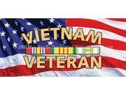 ClearVue Graphics Window Graphic - 30x65 Vietnam Veteran MIL-053-30-65