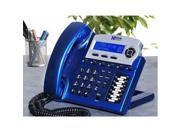 Xblue XB 2022 28 X16 6 Line Phone System 8 Telephones Vivid Blue color