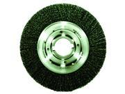 Weiler - 06150 - Wire Wheel Brush, Arbor, 10 In., 0.0118 In.