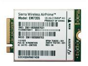 Panasonic - 314GLTEFU - Sierra Wireless AirPrime EM7355 - Wireless cellular modem - 4G LTE - M.2 Card - 150 Mbps