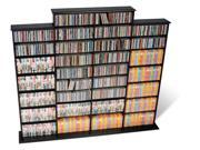 Prepac BMA-1520-K Quad Width Wall Storage, holds 1520 CDs - Black