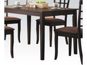 Acme Furniture 6850 Cardiff Dining Table, Espresso
