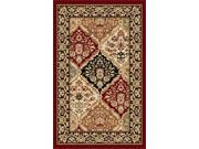 Tayse Rugs Sensation 4770 Red 2 ft. x 3 ft. Traditional Area Rug