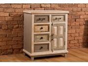 Hillsdale 5732-883 LaRose Five (5) Drawer / One (1) Door Cabinet