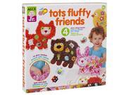 ALEX Toys ALEX Jr. Tots Fluffy Friends Paper Animal Activity 9SIADSR6MS9195