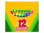 Crayola 12 ct. Crayons-Flat Tuck Box 52-0012