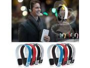 Bluetooth Stereo Headset Headphone for phone Apple iPhone 5 4S iPad2 Samsung LG Laptop PC Tablet + USB charging cable