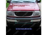 1999-2001 Ford Explorer Bumper Black Billet Grille Grill  Insert