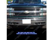 Chevy Silverado 1500/00-06 Suburban/Tahoe Black Billet Grille Grill Insert