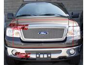 04-08 Ford F-150 Stainless Steel Honeycomb Style Wire Mesh Grille Grill Insert