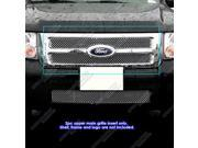 For 08-2012 Ford Escape Stainless Steel Micro-Frame X Mesh Grille Grill Insert #N19-S3875XF