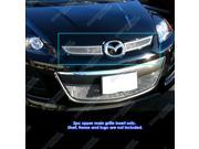For 2010-2012 Mazda CX7 i/CX-7 s Stainless Steel Mesh Grille Grill Insert #N19-T17767M