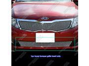 Fits 2011-2013 Kia Optima Bumper Stainless Steel X Mesh Blitz Grille Grill # KX6903S