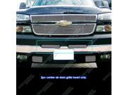 03-06 Chevy Silverado 1500/2500HD/3500 Air Dam Stainless Billet Grille Grill Insert