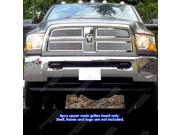 Fits 2010-2012 Dodge Ram 2500/3500 Stainless Steel Mesh Grille Grill Insert # D76864T