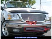 APS Polished Chrome Bumper Billet Grille Grill Insert #F85084A