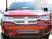 09-10 Dodge Journey Bumper Stainless Mesh Grille Grill Insert