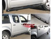 Fits 2005-2013 Nissan Frontier Crew Cab Black Side Step Nerf Bars