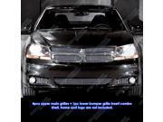 Fits 2011-2014 Dodge Avenger Billet Grille Grill Insert Combo # D61107A
