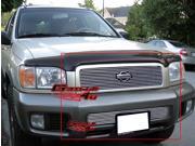 00-01 Nissan Pathfinder Billet Grille Grill Combo Upper+Lower Insert   # N67854A